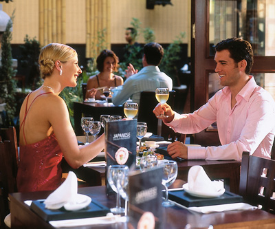 Fine dining at the RIU Palace in Cabo San Lucas